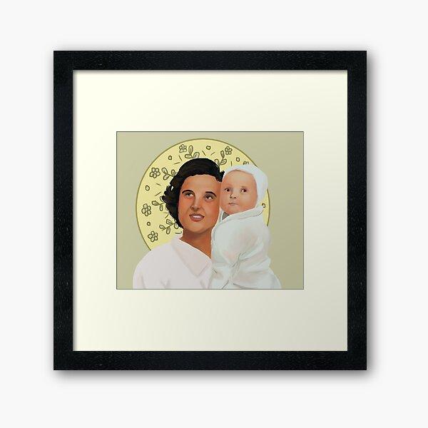 St. Gianna Beretta Molla Framed Art Print