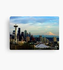 Sunset from Kerry Park Canvas Print