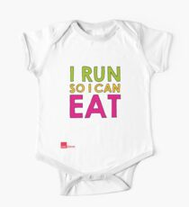 I Run So I Can Eat One Piece - Short Sleeve