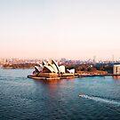 Harbor Bridge Panorama by kaledyson