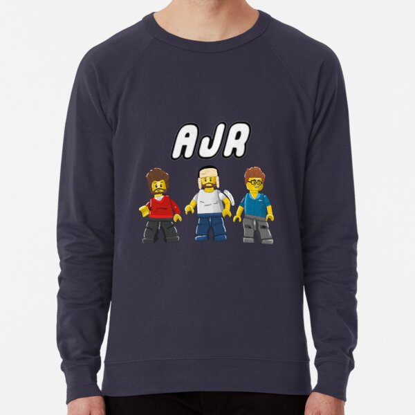 AJR as Lego Characters Lightweight Sweatshirt