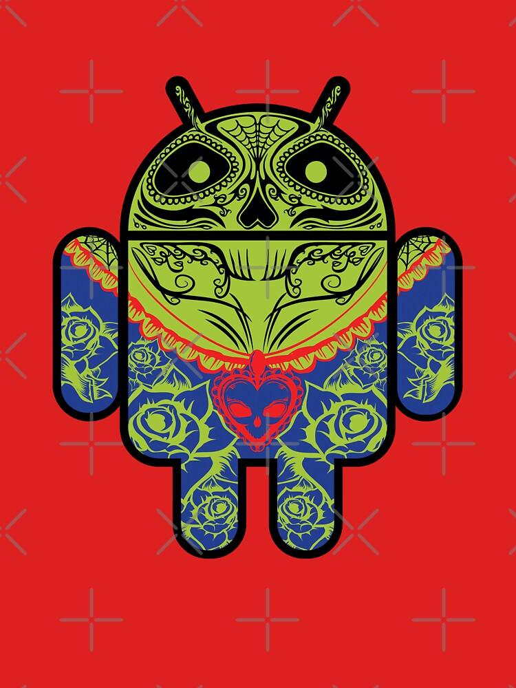 Dia de los Android Muertos by 6amCrisis
