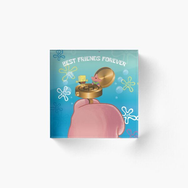 Best Friends Forever... Ring! (Patrick Star) Acrylic Block
