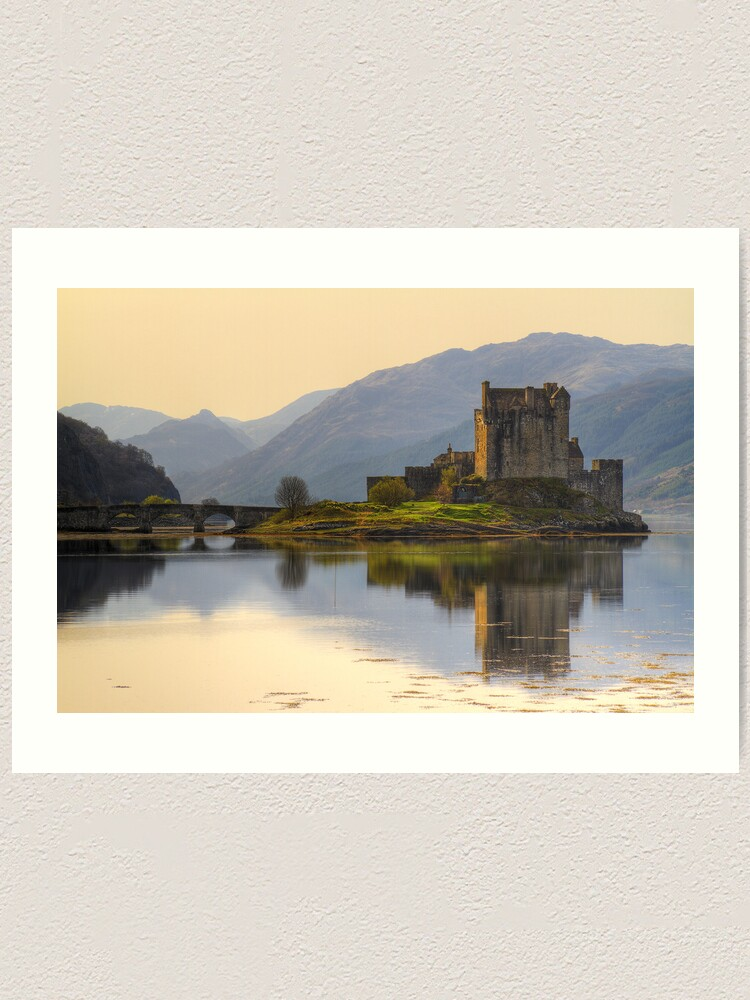 Alternate view of Eilean Donan (6) Art Print