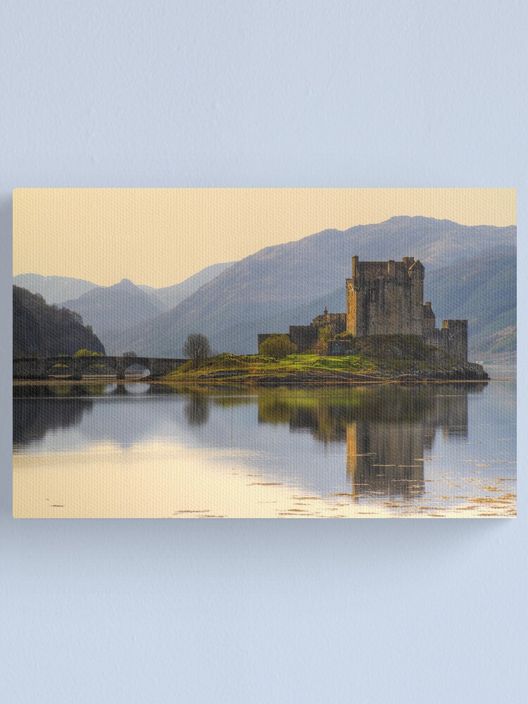 Alternate view of Eilean Donan (6) Canvas Print