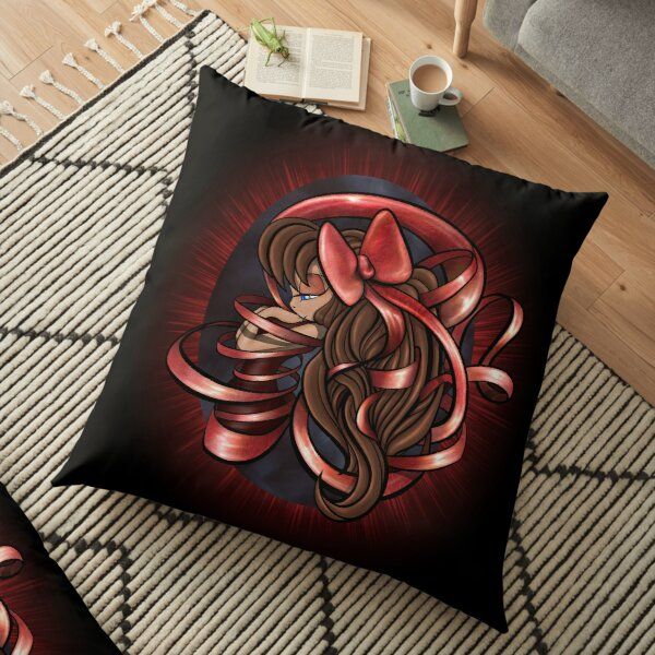 Fated Ribbon Floor Pillow