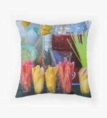 Fruit & juices Throw Pillow