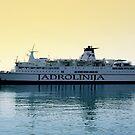 Marko Polo ship, Croatia by Jasna