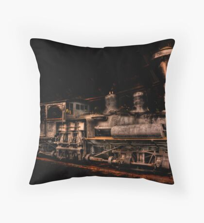 Out of steam Throw Pillow
