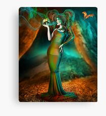 Poisons the very soul of me Canvas Print