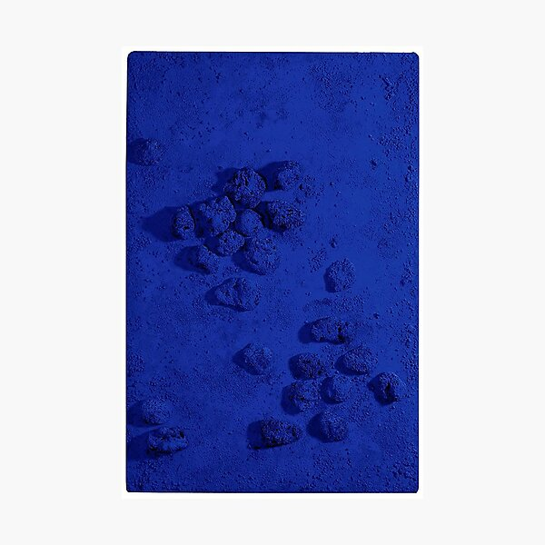 Color trend of the year - Yves Klein Blue Photographic Print