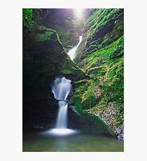 St. Nectan's Glen , Cornwall Photographic Print