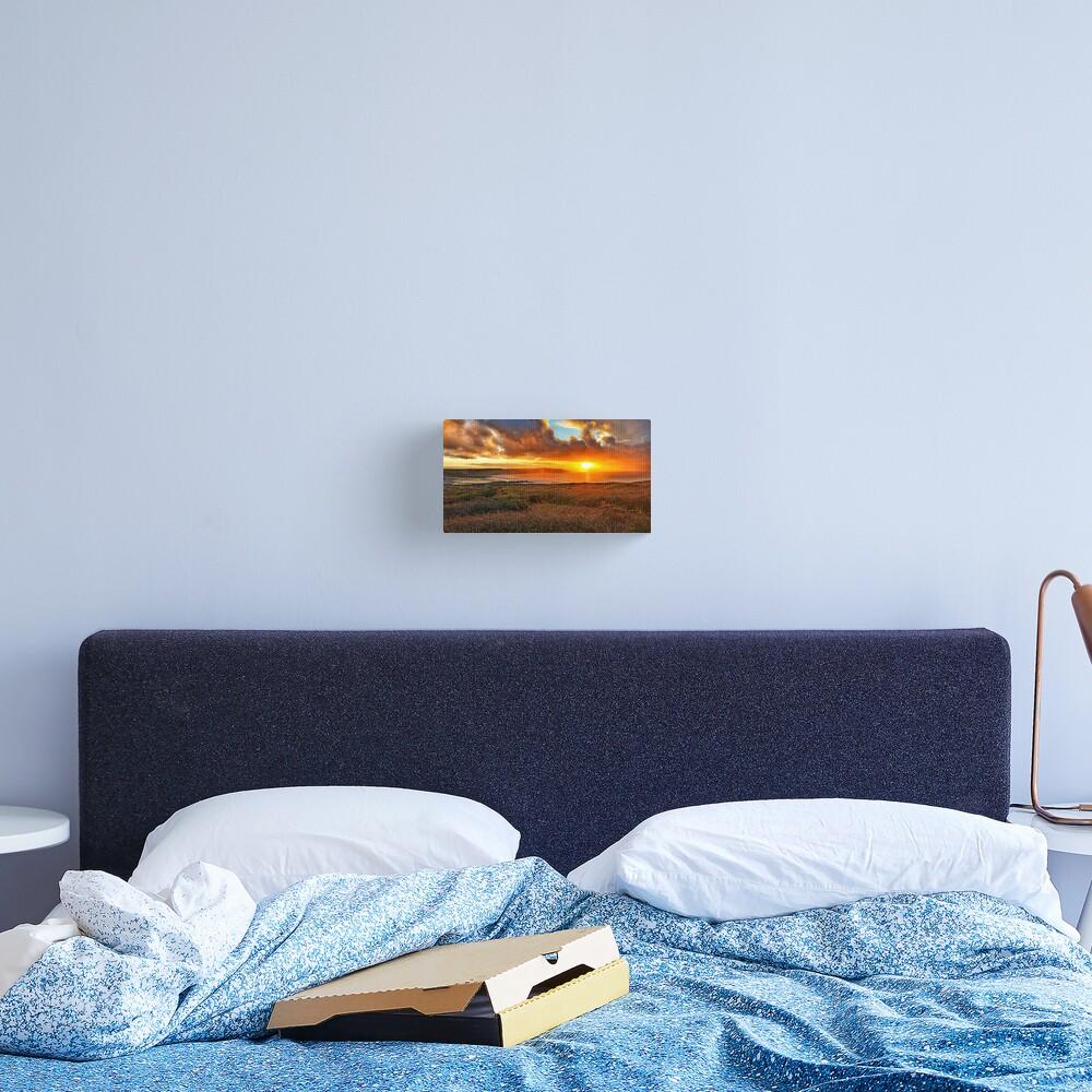 Widemouth Bay sunset Canvas Print