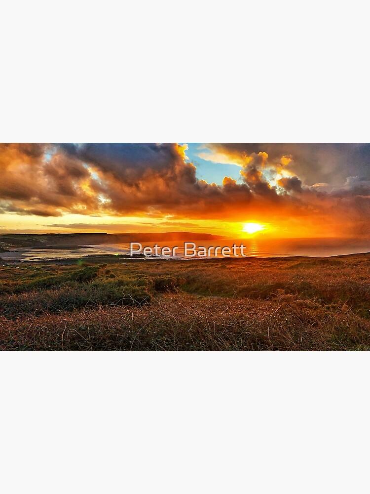 Widemouth Bay sunset by hartrockets