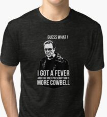MORE COWBELL Tri-blend T-Shirt