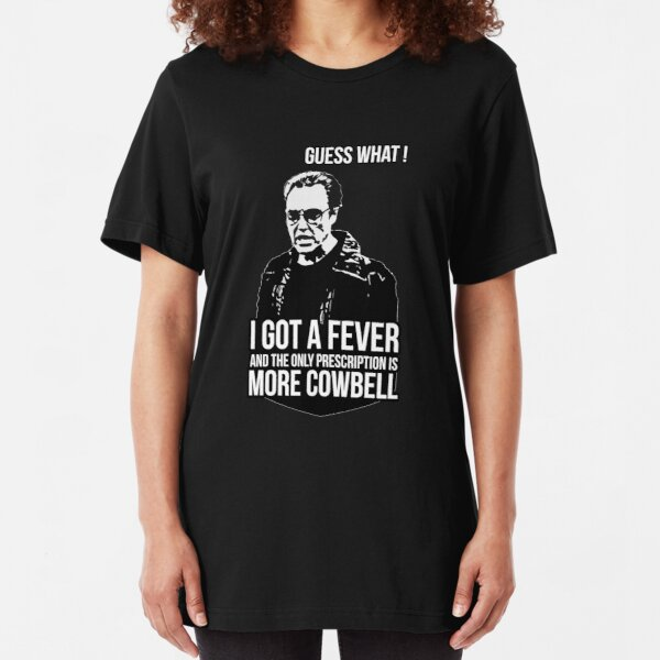 MORE COWBELL Slim Fit T-Shirt
