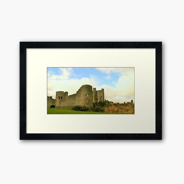 Trim Castle Framed Art Print