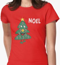 Mac Christmas Noel T-Shirt Women's Fitted T-Shirt