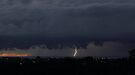 Dawn lightning #2 by Odille Esmonde-Morgan