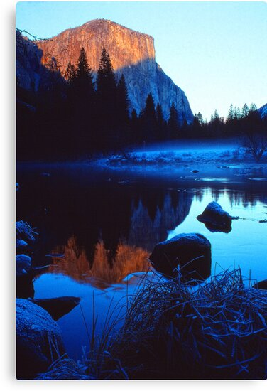 EL CAPITAN, MERCED RIVER by Chuck Wickham