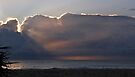 Sunrise and surfers by Odille Esmonde-Morgan