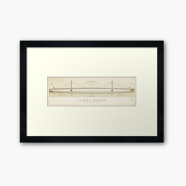 Albert Bridge London Framed Art Print