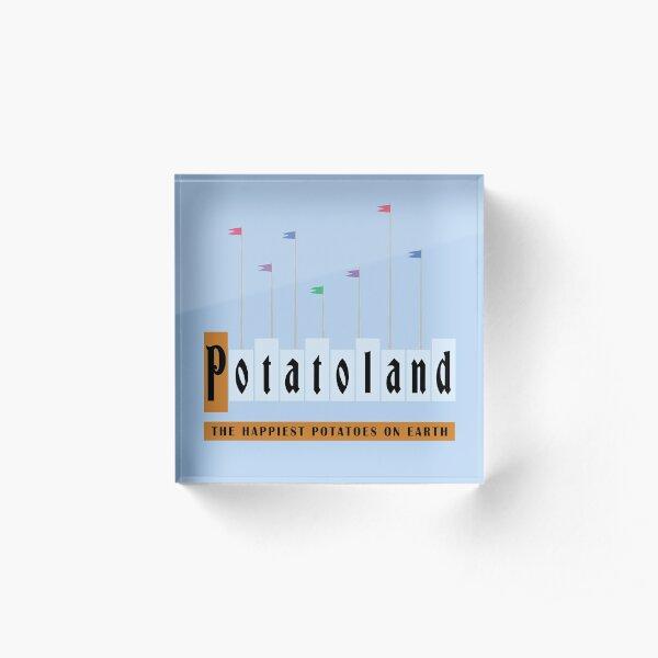 Potatoland Acrylic Block