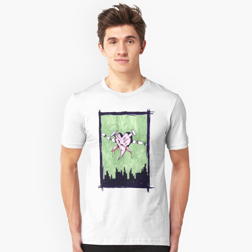 """Nailed """"lost"""" Love Unisex T-Shirt Front"""