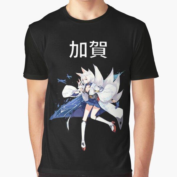 Kaga Azur Lane Graphic T-Shirt