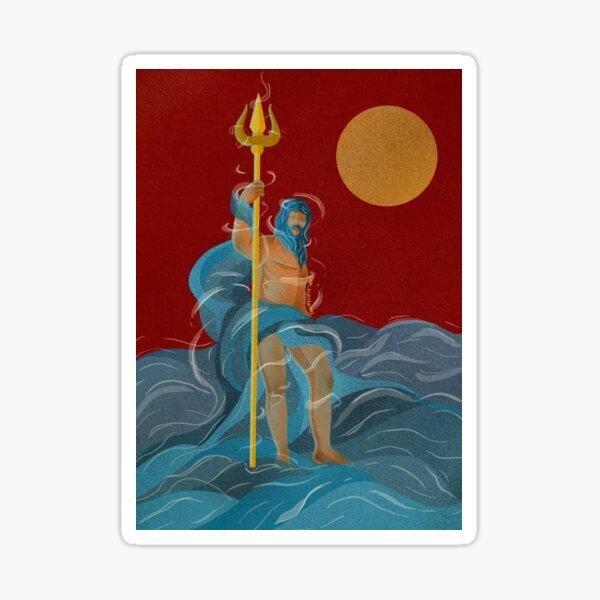 Poseidon.  Sticker