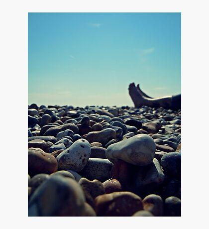Beach Feet Photographic Print
