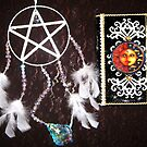Wikanwayz - Sweet Dreams Fantasy Dreamcatcher & Journal  by Magicat