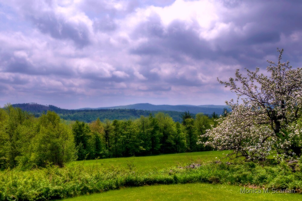Mountains Making Love to Stormy Skies by Monica M. Scanlan