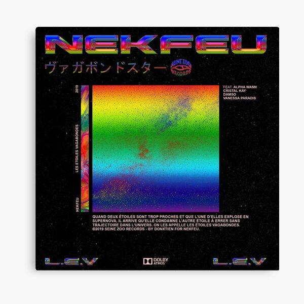 Nekfeu - Les étoiles Vagabondes. Impression sur toile