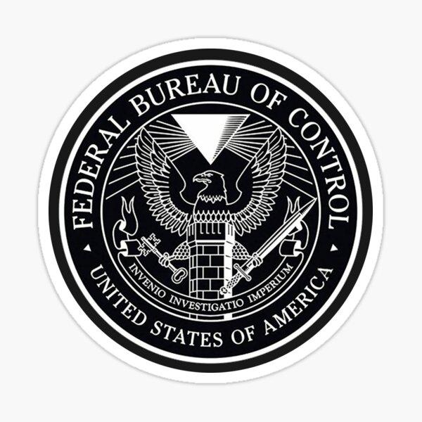 Federal Bureau of Control Glossy Sticker