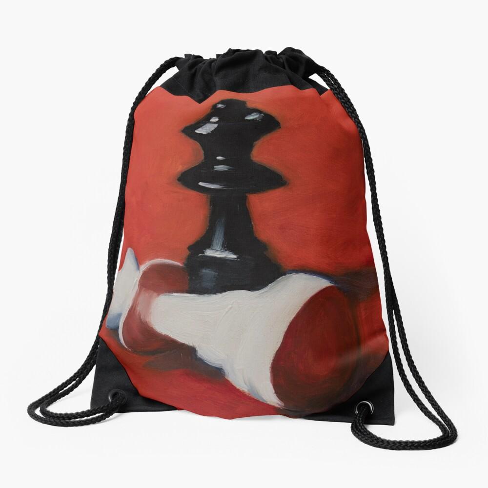 Checkmate Drawstring Bag