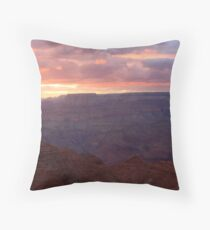 Sunset in the Grand Canyon National Park. Throw Pillow