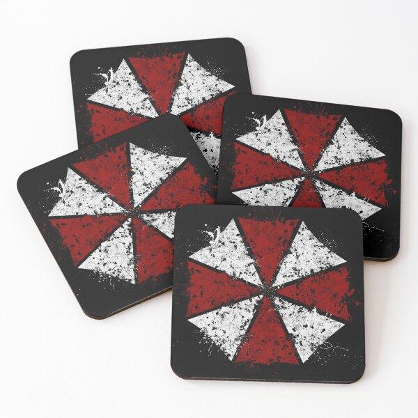 Resident Evil - Umbrella Corps Coasters (Set of 4)