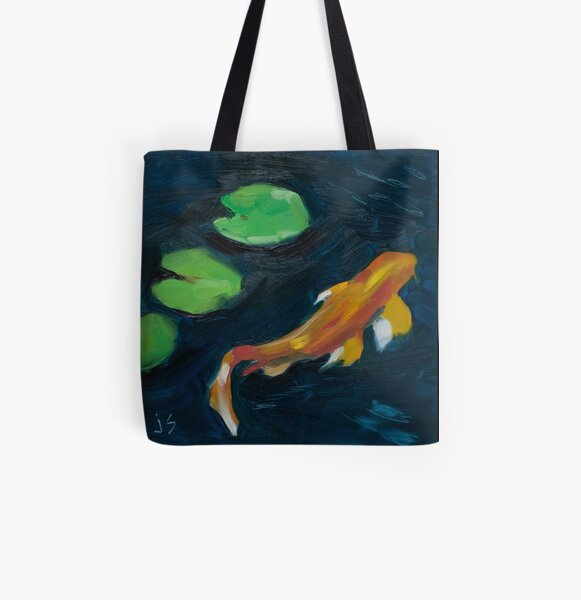 Three In a Row All Over Print Tote Bag