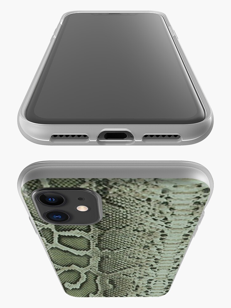 Alternate view of Exotic Snake Print iPhone Case & Cover