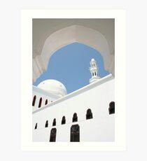 Dome & Minaret Art Print