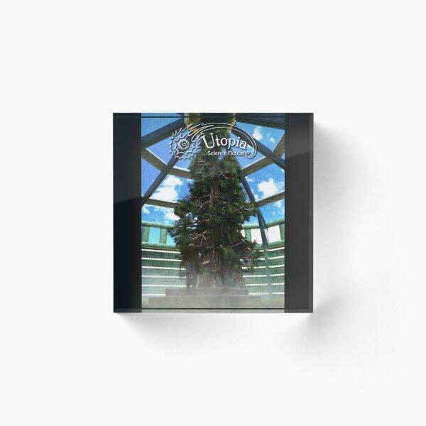 December 2019 Cover Art Acrylic Block