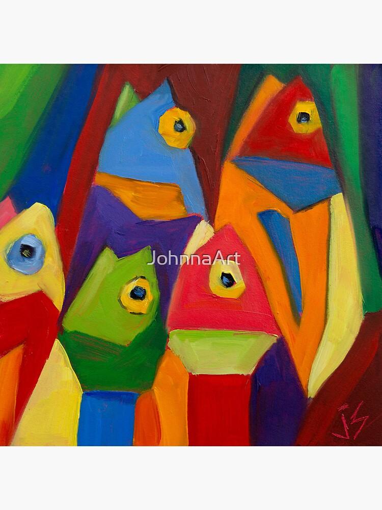 Cube Fish by JohnnaArt