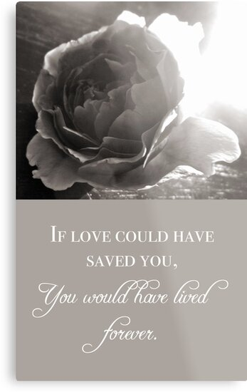 If Love Could Have Saved You by Franchesca Cox