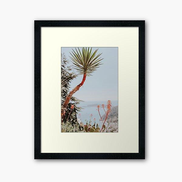 Èze Framed Art Print