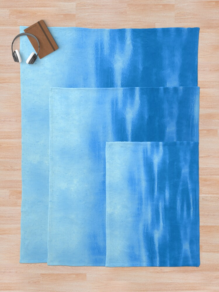 Alternate view of Tranquil Waters Throw Blanket