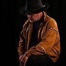 Sad Cowboy by RandiScott