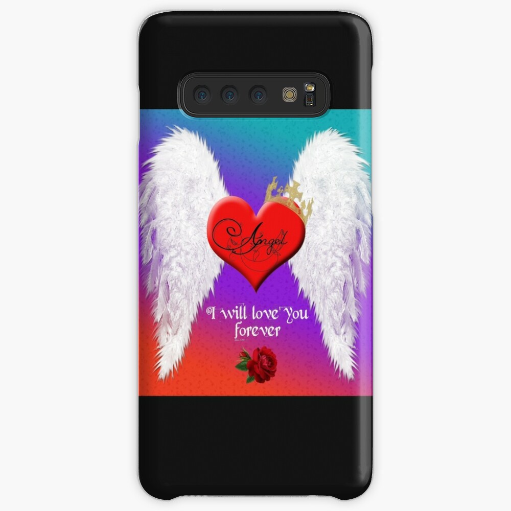 Angel - I will love you forever. Case & Skin for Samsung Galaxy