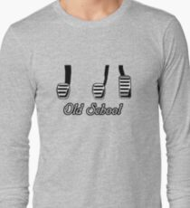 Old School Pedals Long Sleeve T-Shirt