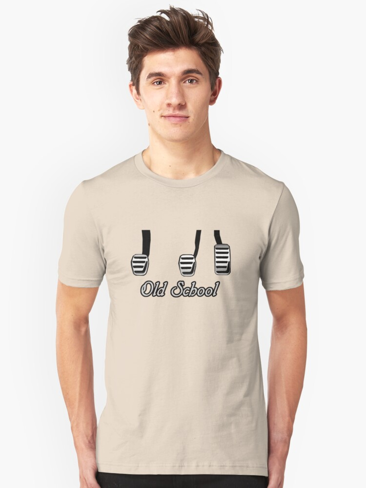 Old School Pedals Unisex T-Shirt Front